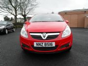 Vauxhall, Corsa 1.2 Life 3dr Red
