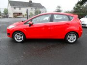 Ford, Fiesta 1.25 Zetec 5dr Red