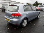 Volkswagen, Golf Match 1.6 Tdi 5dr Blue Metalic