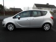 Vauxhall Meriva 1.4 Exclusiv 100 5dr Silver