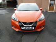Nissan, Micra 1.5 Dci Tekna 5dr Orange